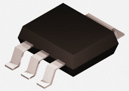 STMicroelectronics - STN1NF10 - STMicroelectronics STripFET 系列 Si N沟道 MOSFET STN1NF10, 1 A, Vds=100 V, 3针+焊片 SOT-223封装