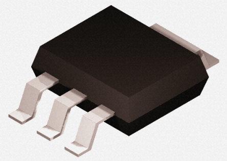 DiodesZetex - ZXTP5401GTA - DiodesZetex ZXTP5401GTA , PNP 晶体管, 600 mA, Vce=150 V, HFE:50, 100 MHz, 3 + Tab引脚 SOT-223封装