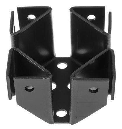 AAVID THERMALLOY - 569003B00000G - AAVID THERMALLOY 黑色 散热器 002193, 5.5K/W, 印刷电路板通孔安装安装, 46.48 x 46.48 x 33.27mm