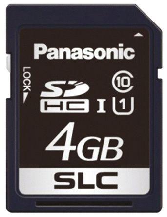 Panasonic - RP-SDF04GDA1 - Panasonic SD 卡 RP-SDF04GDA1, 使用于FX 系列