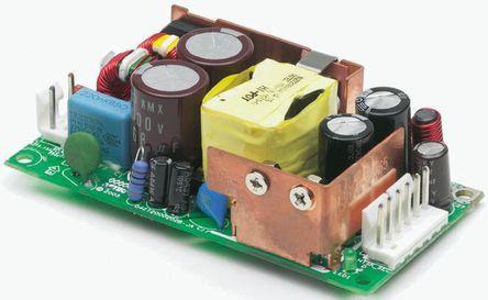 Artesyn Embedded Technologies - LPS55-M - Artesyn Embedded Technologies 60W �屋�出 嵌入式�_�P模式�源 SMPS LPS55-M, 127 → 300 V dc, 90 → 264 V ac�入, 24V�出