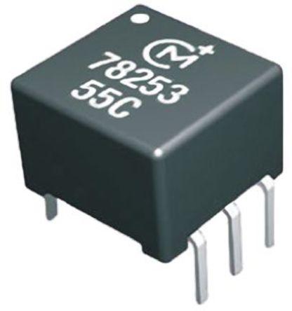 Murata Power Solutions - 78253/35C - Murata Power Solutions 78253/35C 1:2.27 通孔 电信变压器, 0.38mH, 1Ω