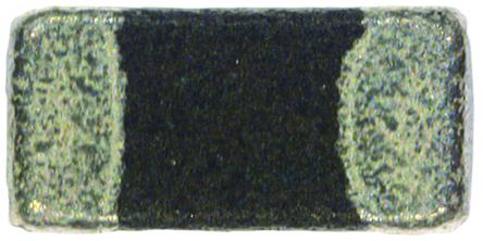 Murata - BLM18HG102SN1D - Murata BLM18HG102SN1D BLM18HG 系列 铁氧体磁珠, 1000Ω阻抗 @ 100 MHZ, 0603封装, 适用于EMI 抑制过滤器、GHz 频段通用