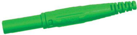 Multi Contact - 66.9155-25 - Multi Contact 66.9155-25 绿色 4mm 插座, 1kV 32A, 镀镍触点
