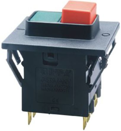 ETA - 3140-F230-P7T1-SGRX-16A - ETA 3140 系列 16A 3极 热磁断路器 3140-F230-P7T1-SGRX-16A, 15, 415V dc, V ac