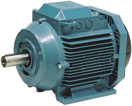 ABB - 3GAA081 312-ASE - ABB 3GAA 系列 电磁感应 可逆向 交流电动机 3GAA081 312-ASE IE2, 3 相, 0.75 kW, 2.5 Nm, 415 V 交流, 支脚安装