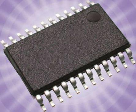 STMicroelectronics - STP16CP05XTTR - STMicroelectronics STP16CP05XTTR 16数字 16段 LED 驱动器, 3.3 V、5 V, 24引脚 TSSOP封装
