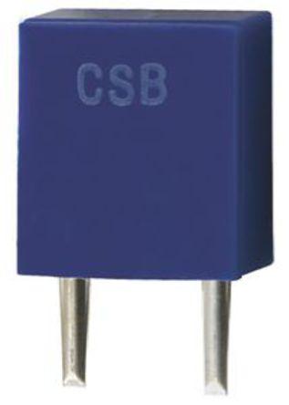 Murata - CSBLA500KEC8-B0 - Murata CSBLA500KEC8-B0 0.5MHz 陶瓷谐振器, 2针 CSBLA封装, 7 x 3.5 x 9mm