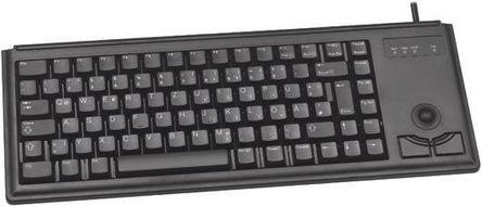 Cherry - G84-4420LPBGB-2 - Cherry 黑色 PS/2 有� 工�I用 �o��型 QWERTY(英��) �I�P G84-4420LPBGB-2, 84�I�P