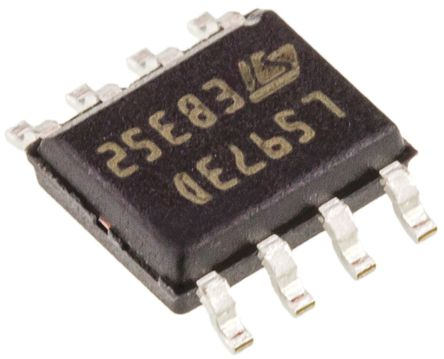 STMicroelectronics - L5973D - STMicroelectronics L5973D 降压 开关稳压器, 4 → 36 V输入, 2A最大输出, 1.235 → 35 V输出, 275 kHz最高开关频率, 8引脚 HSOP封装