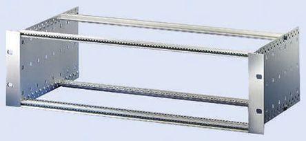Schroff - 24563431 - Schroff EuropacPRO 系列 天然色 铝,不锈钢制 6U 机架式机箱 24563431, 84hp, 175mm深