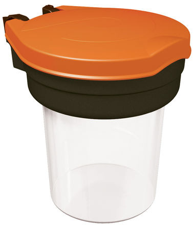 Skipper - Disp01-O - Skipper 230mm长 黑色/橙色/白色 分配器槽 Disp01-O, 230 (W) x 263 (D) x 262 (H)mm, 使用于 Skipper 支柱和基座系统,支柱和基座圈