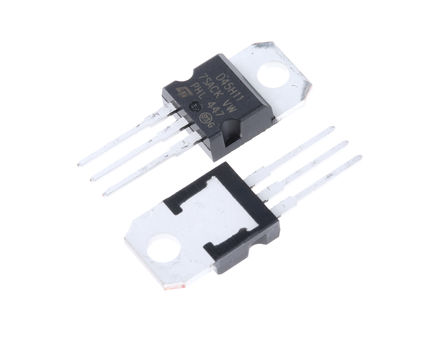 STMicroelectronics - D45H11 - STMicroelectronics D45H11 , PNP 晶体管, 20 A, Vce=80 V, HFE:40, 3引脚 TO-220封装