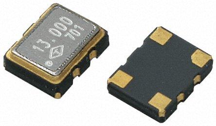 TAITIEN - R0053-T-044-3 - TAITIEN 12.8 MHz 电压控制温度补偿晶体振荡器 R0053-T-044-3, 2.8 → 3.3 V, 4引脚 SMT, 3.2x2.5mm