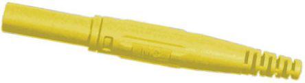 Multi Contact - 66.9155-24 - Multi Contact 66.9155-24 黄色 4mm 插座, 1kV 32A, 镀镍触点