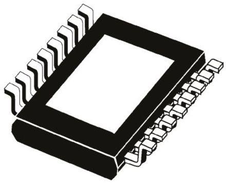 STMicroelectronics - LED6001 - STMicroelectronics LED6001 1段 LED 驱动器, 5.5 → 36 V, 16引脚 HTSSOP封装