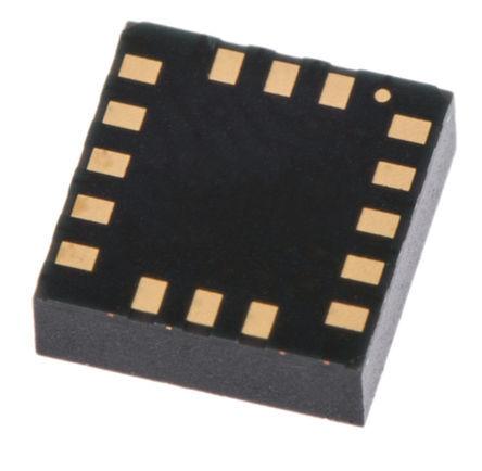 STMicroelectronics - H3LIS200DLTR - STMicroelectronics H3LIS200DLTR 3轴 加速表, 串行-3 线、串行-4 线、串行-I2C、串行-SPI接口, 2.16 → 3.6 V电源, 16引脚 TFLGA封装