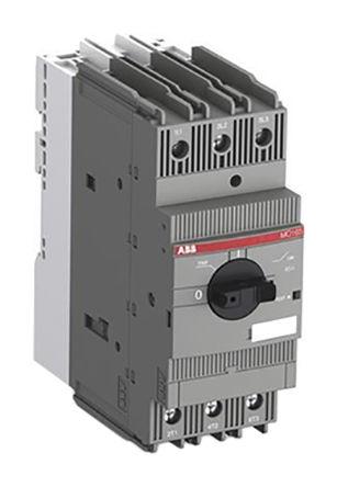 ABB - MO165-54 - ABB MO 系列 MO165 系列 22 kW 手动启动器 1SAM461000R1016, 600 V 交流, 54 A
