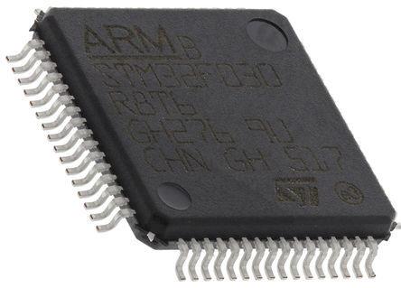 STMicroelectronics - STM32L476RGT6 - STM32 系列 STMicroelectronics 32 bit ARM Cortex M4 MCU STM32L476RGT6, 80MHz, 1 MB ROM 闪存, 128 kB RAM, 1xUSB, LQFP-64