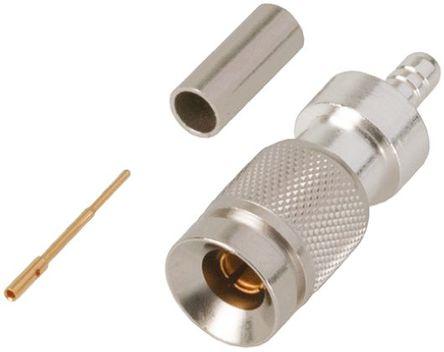 TE Connectivity - 6-1393670-2 - TE Connectivity 直 公 1.0/2.3 连接器 6-1393670-2, 75Ω阻抗, 电缆安装