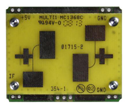 Microwave Solutions - MDU1750CM-C920810 - Microwave Solutions 10.525 GHz 微波 Doppler �鞲衅� 模�M �\�犹�y器 MDU1750CM-C920810