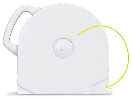 3D Systems - 401396 - 3D Systems 黄色 FDM PLA 3D 打印机熔丝耗材, 用于 CubeX, 适用于 CubeX
