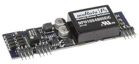 Murata Power Solutions - NMPD0105C - 9.75W PoE 供电分离器模块, 48V输入, 5.1V输出, 2A输出