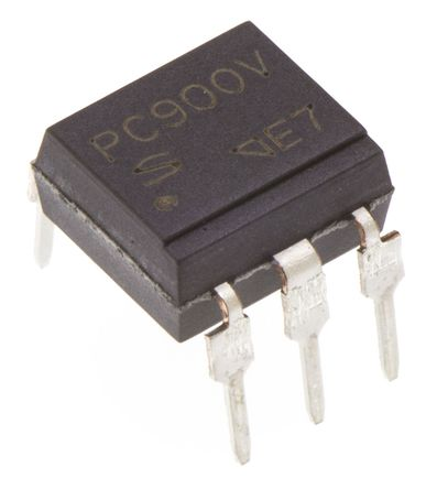 Sharp - PC900V0NSZXF - Sharp 光耦 PC900V0NSZXF, 逻辑门输出, 6引脚 DIP 封装