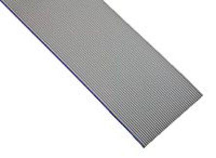 3M - HF319/10 100FT - 3M HF319 系列 30m�L 10 路 1.27mm�距 灰色 低��且�o�u (LSZH) �o屏蔽 ��铍��| HF319/10 100FT, 12.7 mm ��