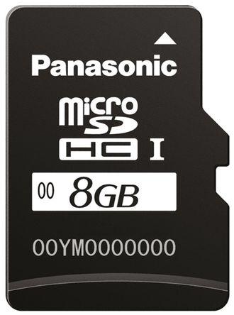 Panasonic - RP-SMKC08DA1 - Panasonic SD 卡 RP-SMKC08DA1, 使用于KC 系列