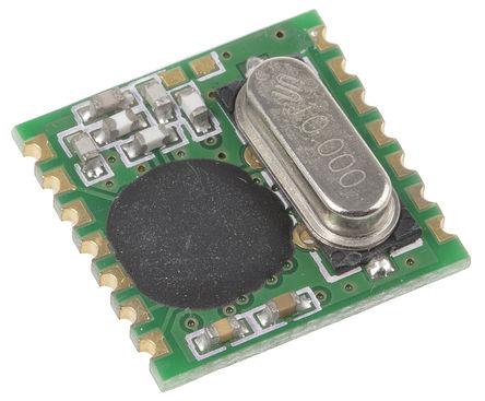 RF Solutions - ALPHA-TR868S - RF Solutions 射频收发器 ALPHA-TR868S, 868 MHz频带, 调频调制技术, 2.2 → 3.8V