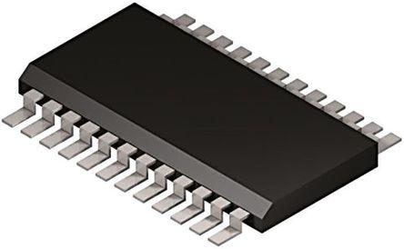 STMicroelectronics - ALED1642GWXTTR - STMicroelectronics ALED1642GWXTTR 16段 LED 驱动器, 3 → 5.5 V, 24引脚 TSSOP封装