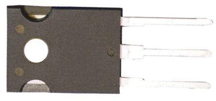 Toshiba - TK17N65W,S1F(S - Toshiba Si N沟道 MOSFET 晶体管 TK17N65W,S1F(S, 17 A, Vds=650 V, 3引脚 TO-247封装