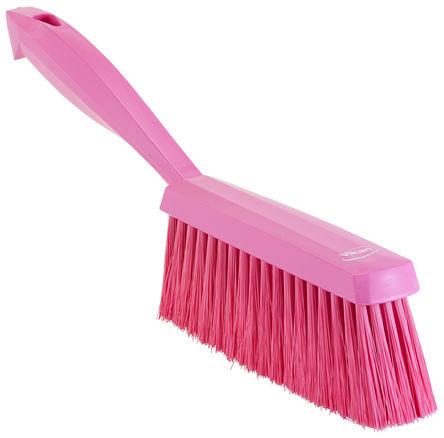 Vikan - 45871 - Vikan 45871 粉红色 洗手刷, PET刷毛, 适用于清洁干燥、细小颗粒,地板