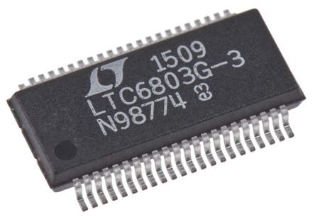 Linear Technology - LTC6803IG-3#PBF - Linear Technology LTC6803IG-3#PBF �池充�控制器, 1.6mA最大�出, 10 → 55 V�源, 44引�_ SSOP封�b