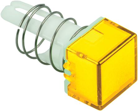 Idec - AL8Q-LK1 - Idec AL8Q-LK1 黄色 方形 按钮透镜, 使用于A8 系列