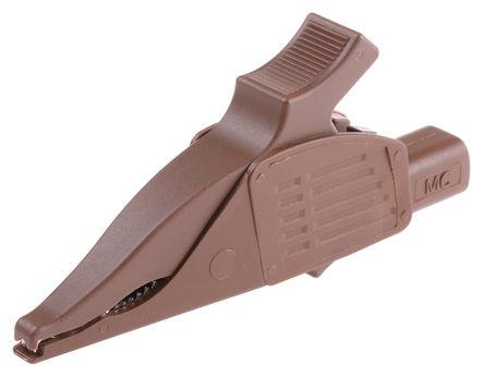 Multi Contact - 66.9575-27 - 32A 棕色 黄铜 海豚夹