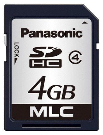 Panasonic - RP-SDPC04DE1 - Panasonic 4 GB SD卡