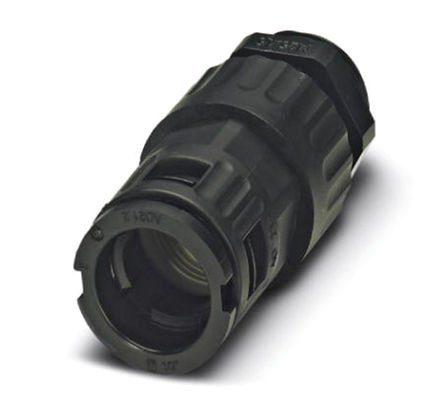 Phoenix Contact - 3240934 - Phoenix Contact IP68/IP69K 黑色 聚酰胺 电缆固定头 3240934 至 28.5mm电缆直径, -40°C至+115°C