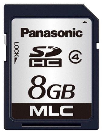 Panasonic - RP-SDPC08DE1 - Panasonic 8 GB SD卡