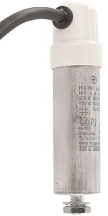 ebm-papst - 2161-4-7320 - ebm-papst 7320 系列 4μF 聚丙烯电容器 (PP) 2161-4-7320, 螺丝安装, 30mm直径