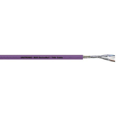 Lapp - 2170343 - Lapp 2 芯, 18 AWG PVC护套 总线电缆 2170343, 6.9mm 外径