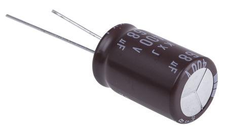 Nippon Chemi-Con - EKXJ401ELL680ML25S - Nippon Chemi-Con KXJ 系列 400 V 直流 68μF �X�解�容器 EKXJ401ELL680ML25S, ±20%容差, 最高+105°C, L25封�b