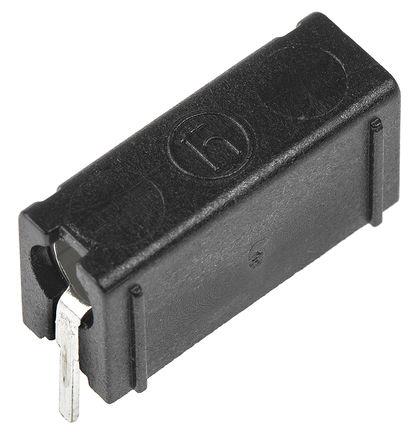 Hirschmann Test & Measurement - 973582100 - Hirschmann 973582100 黑色 4mm 插座, 60V dc 16A, 镀锡触点