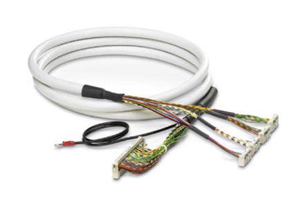 Phoenix Contact - 2306980 - Phoenix Contact 2306980 10m IDC 14 针 - 4 个 IDC 50 针 母 - 母 电缆