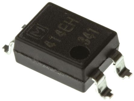 Panasonic - AQY414EHA - Panasonic 光耦 AQY414EHA, 直流输入, MOSFET输出, 4引脚 PDIP 封装