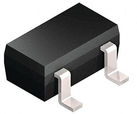 Infineon - BCW67BE6327 - Infineon BCW67BE6327 , PNP 晶�w管, 800mA, Vce=32 V, HFE:35, 200 MHz, 3引�_ SOT-23封�b