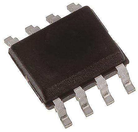 STMicroelectronics - TDA7233D013TR - STMicroelectronics TDA7233D013TR AB 类 单端 音频放大器, +150 °C, 1 W @ 8 Ω, 1.6 W @ 4 Ω最大功率, 8引脚 SOIC封装