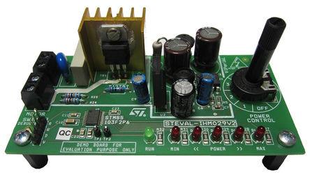 STMicroelectronics - STEVAL-IHM029V2 - STMicroelectronics STM8S103F2, T1235T 电机控制器 评估测试板 STEVAL-IHM029V2