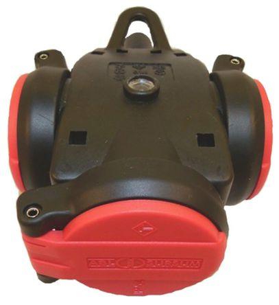 ABL Sursum - 1173543 - ABL Sursum 黑色,红色 3 插座 电源 接线板 1173543, 电缆安装, 16A, 250 V
